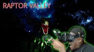 SCARIEST GAME ON HTC VIVE!! Raptor Valley Reaction