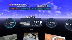 AccuWeather's VR app is like dystopian design fiction