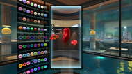 The Gear VR's new, leaner home screen has fancy avatars and a VR web browser