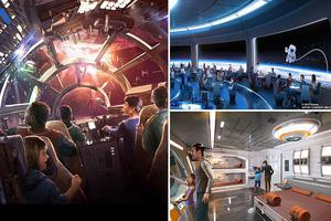Exciting new details about Disney's new 'immersive' Star Wars theme parks and hotel, where windows look into SPACE