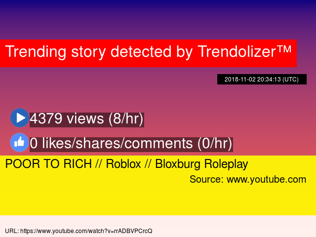 POOR TO RICH // Roblox // Bloxburg Roleplay