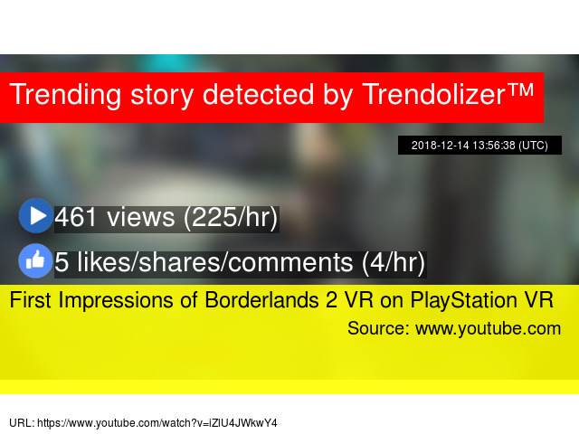 First Impressions of Borderlands 2 VR on PlayStation VR