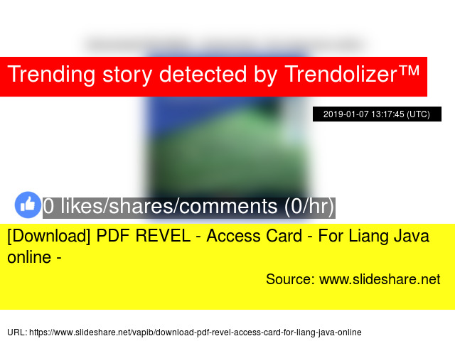 Download] PDF REVEL - Access Card - For Liang Java online -