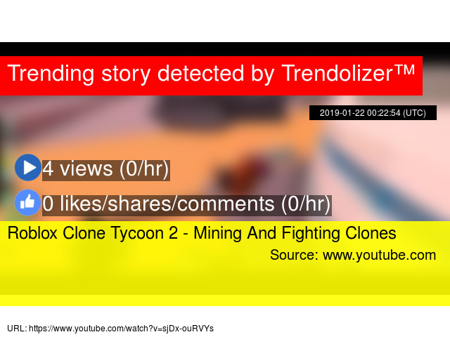 Roblox Clone Tycoon 2 - Mining And Fighting Clones