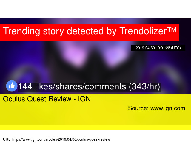 Oculus Quest Review - IGN