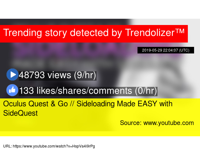 Oculus Quest & Go // Sideloading Made EASY with SideQuest