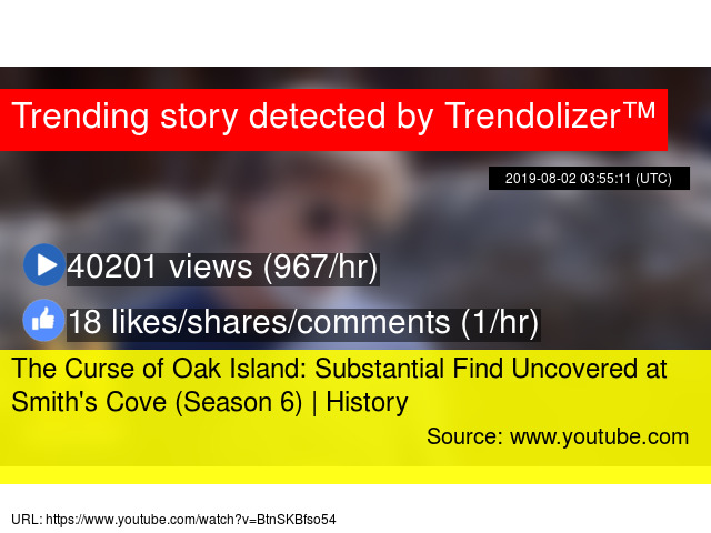 The Curse of Oak Island: Substantial Find Uncovered at