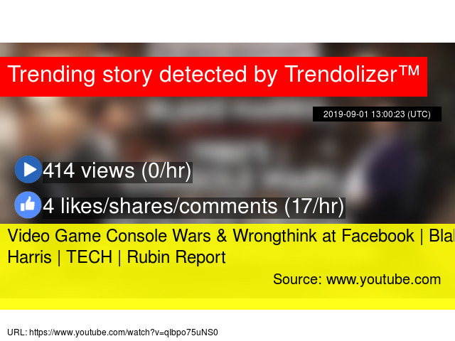Video Game Console Wars & Wrongthink at Facebook | Blake