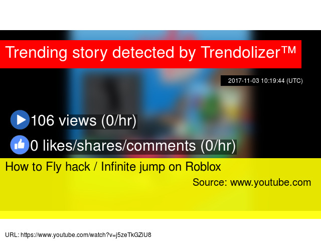 How to Fly hack / Infinite jump on Roblox