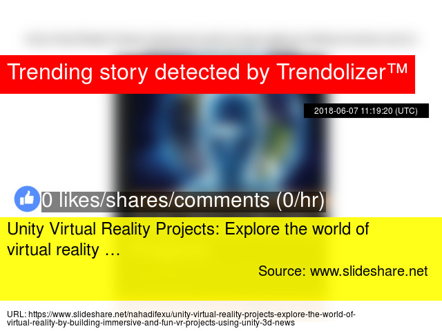 Unity Virtual Reality Projects: Explore the world of virtual