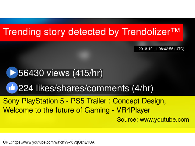 Sony PlayStation 5 - PS5 Trailer : Concept Design, Welcome